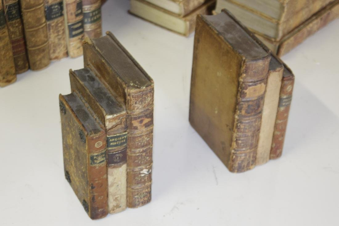 Assorted Antique Leather Bound Books - 6