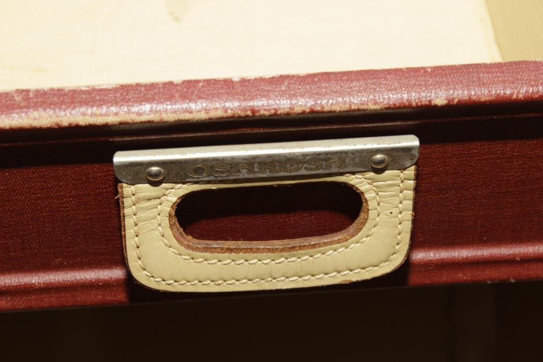 Vintage Oshkosh Steamer Trunk - 8