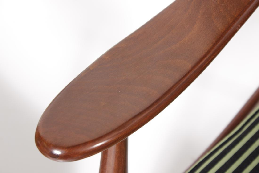 Pair of Italian Modernist Arm Chairs - 4