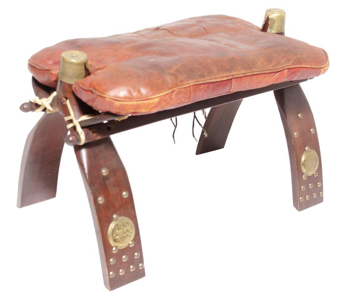 Camel Saddle Stool