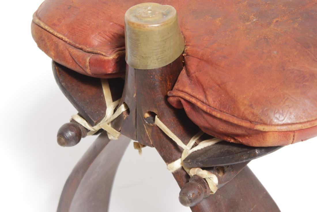 Camel Saddle Stool - 5