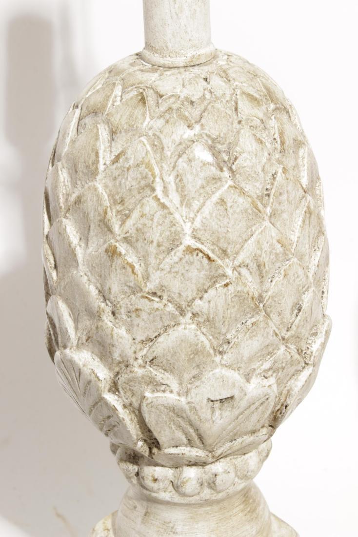 Pair Pineapple Lamps - 2