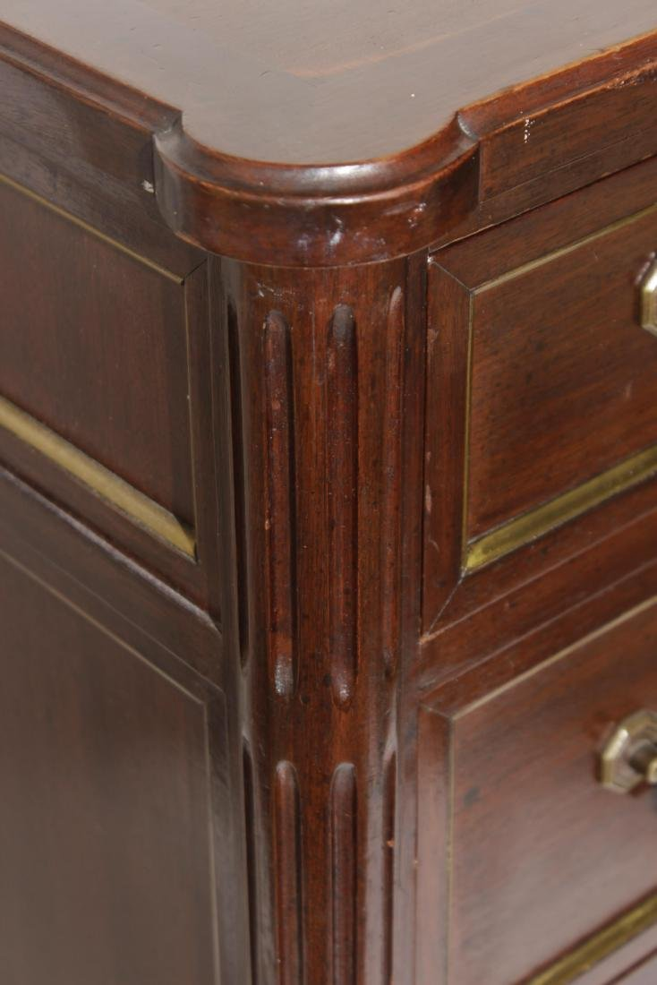 Louis XVI Style Tall Chest - 2