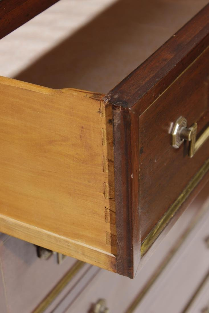 Louis XVI Style Tall Chest - 4