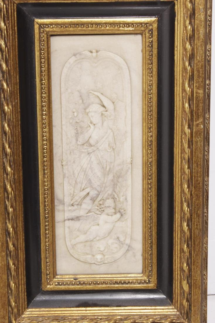 Pair of Composition Neoclassical Plaques - 4