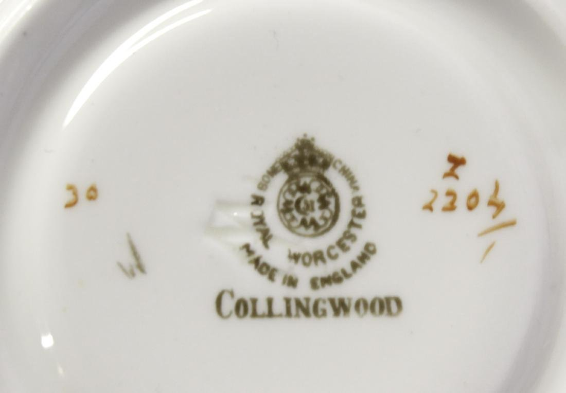 Royal Worcester 'Collingswood' Partial Dinner Set - 5