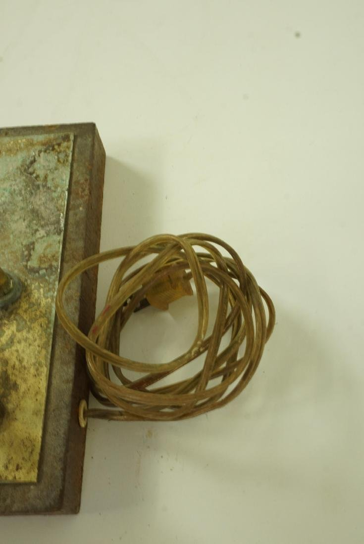 Multi-Arm Brass Floor Lamp - 3