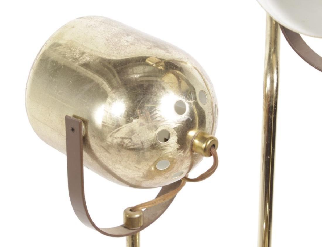 Multi-Arm Brass Floor Lamp - 4