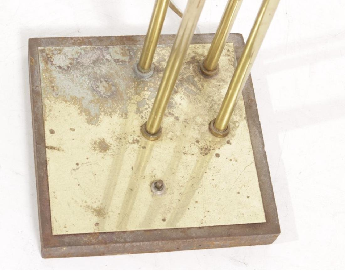 Multi-Arm Brass Floor Lamp - 5