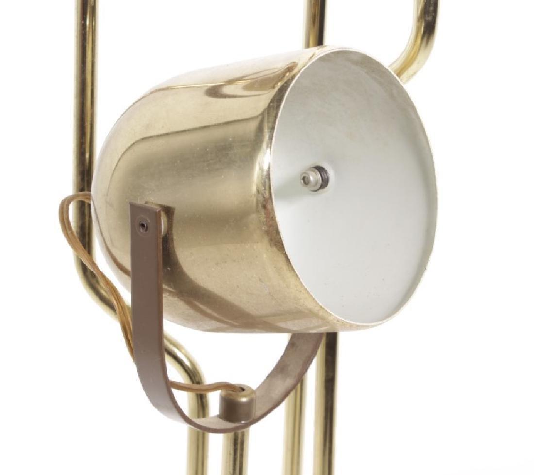 Multi-Arm Brass Floor Lamp - 6