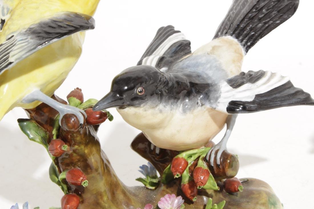 Two Staffordshire Bird Figures - 3