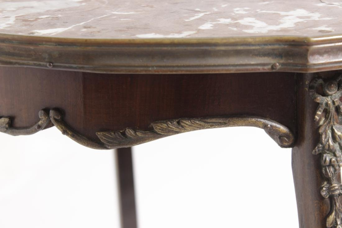 French Marble Top Stand - 6