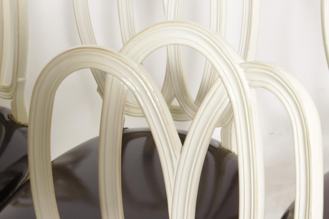 Set of Six Ribbon Back Dining Chairs - 2