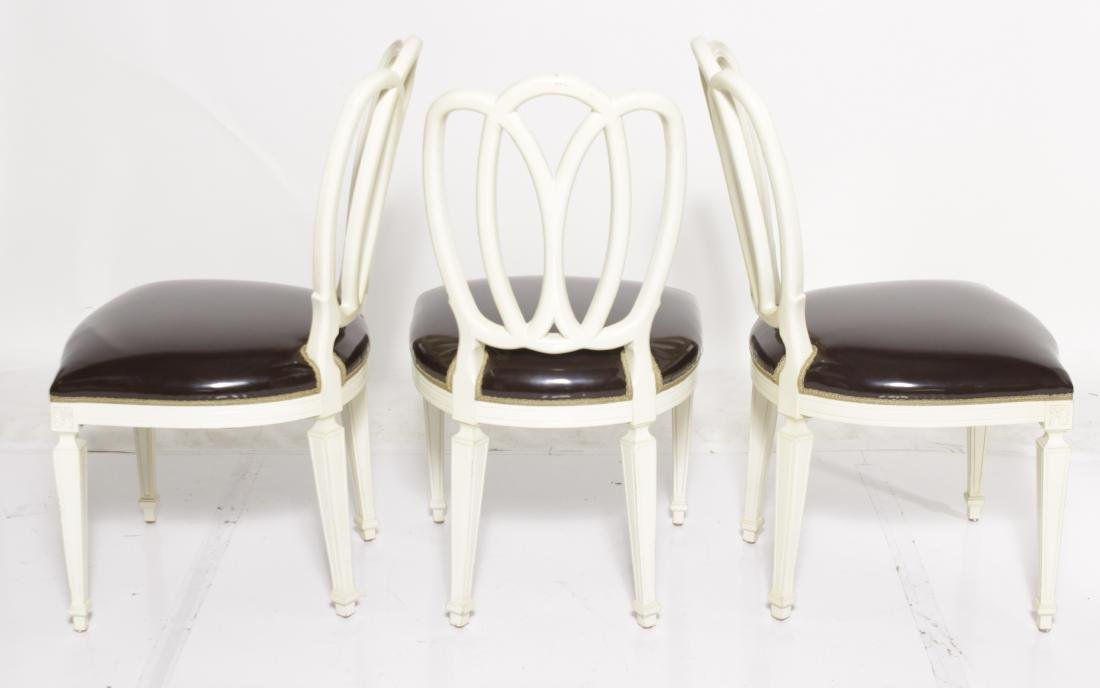 Set of Six Ribbon Back Dining Chairs - 7