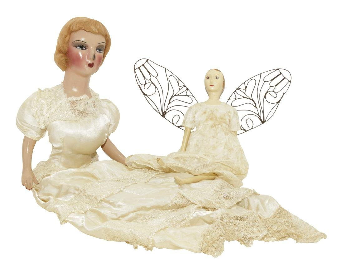Two Vintage Dolls