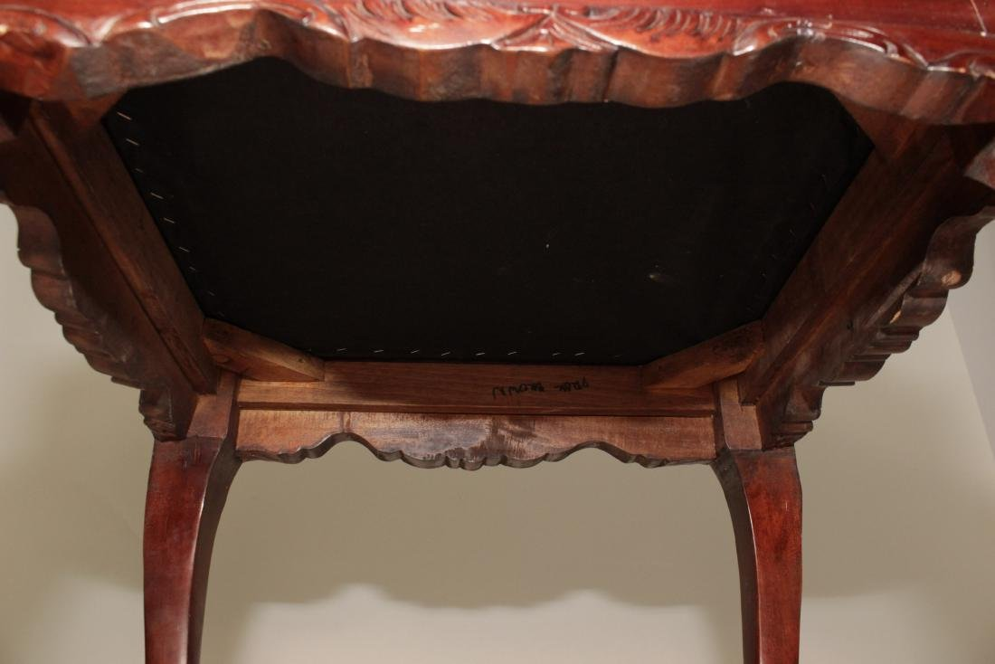 Chippendale Style Stool - 5