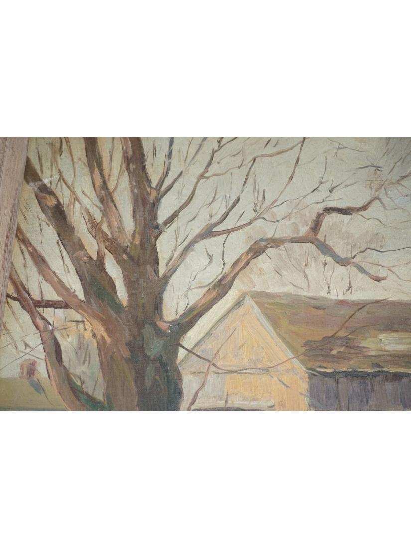Otto Kurth (1883-1965) Oil on Board Landscape - 6