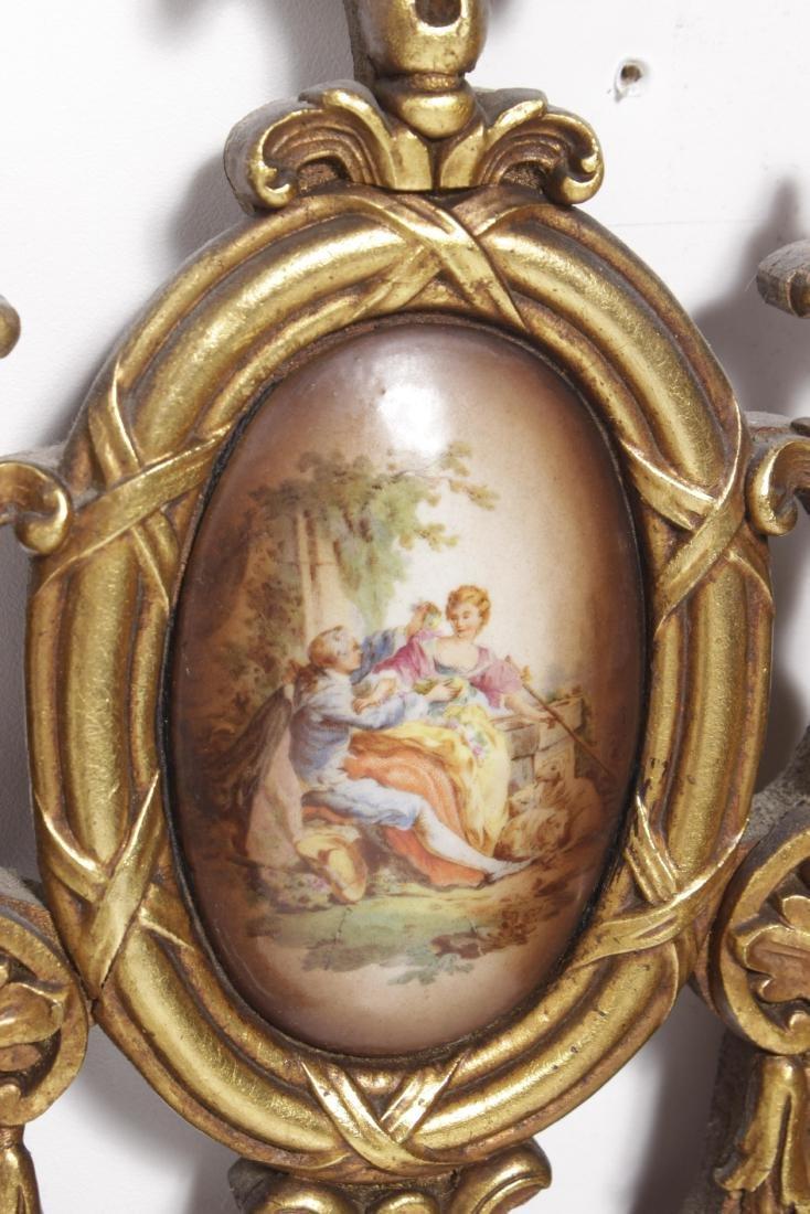 Oval Gilt Mirror - 3