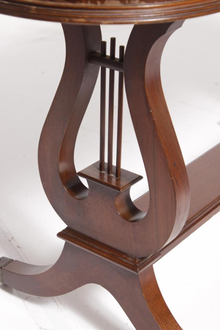 Regency Style Sofa Table - 7