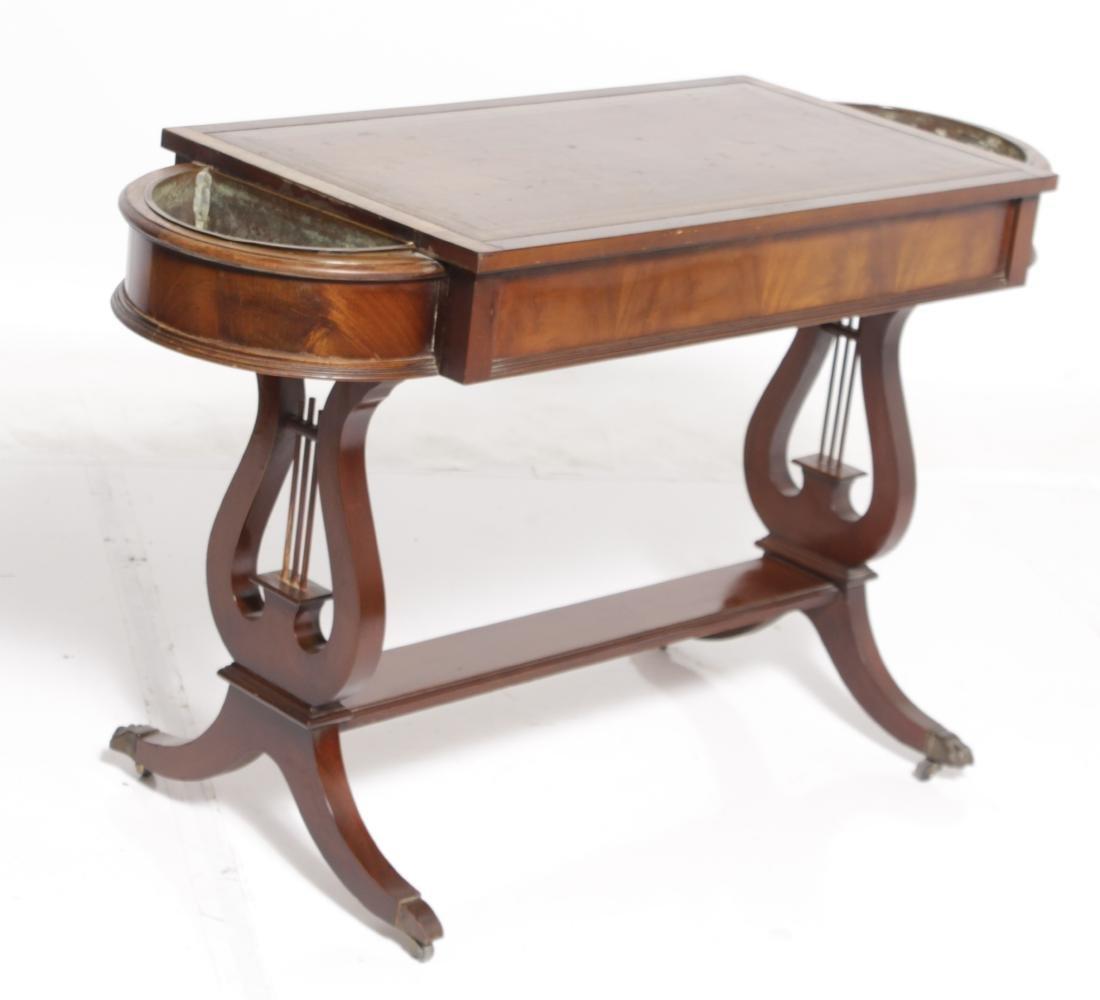 Regency Style Sofa Table - 9