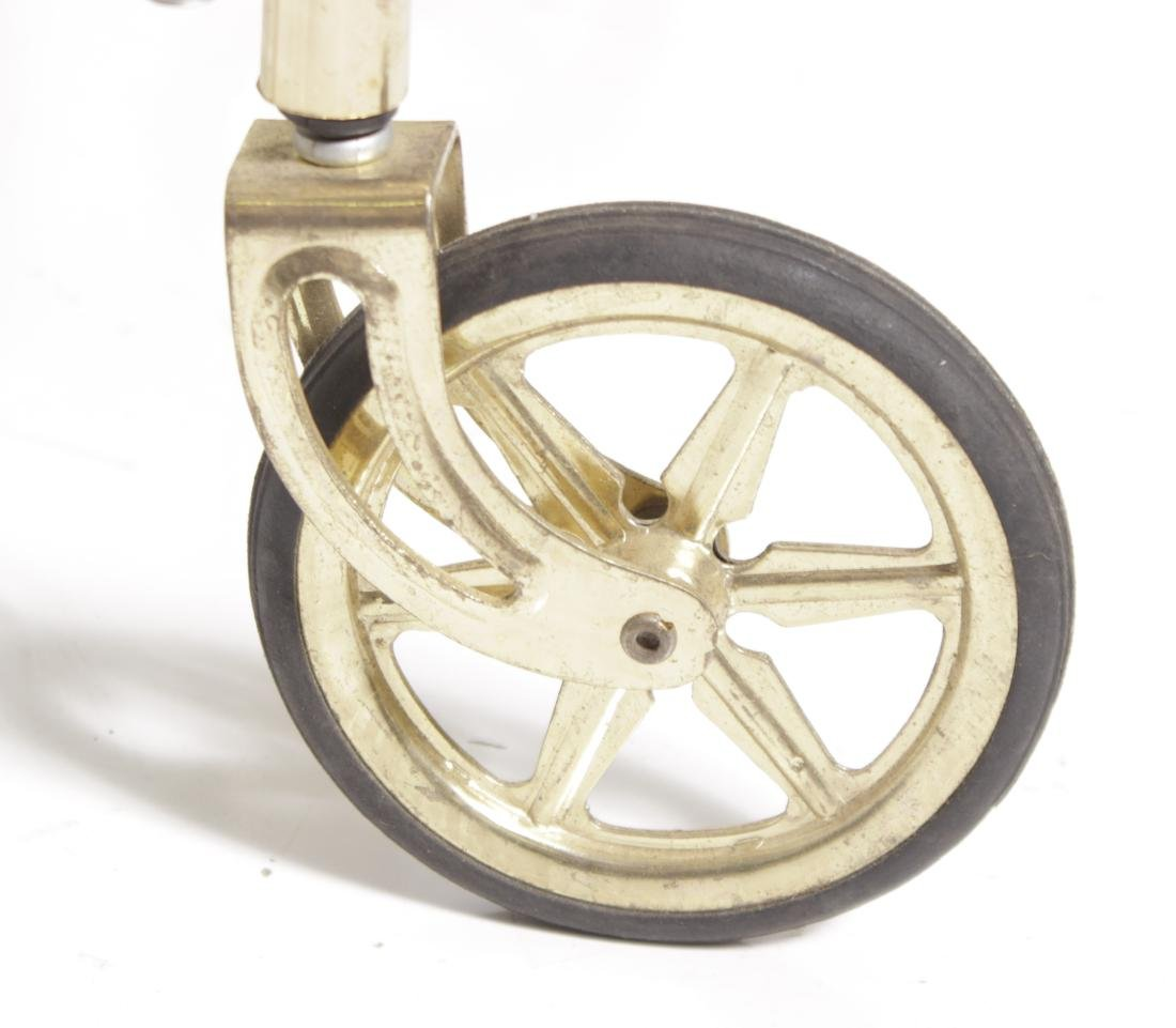 Mid C Brass Tea Cart - 3