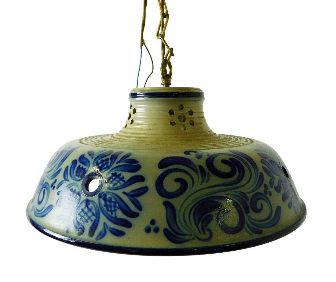 Delft Style Hanging Fixture