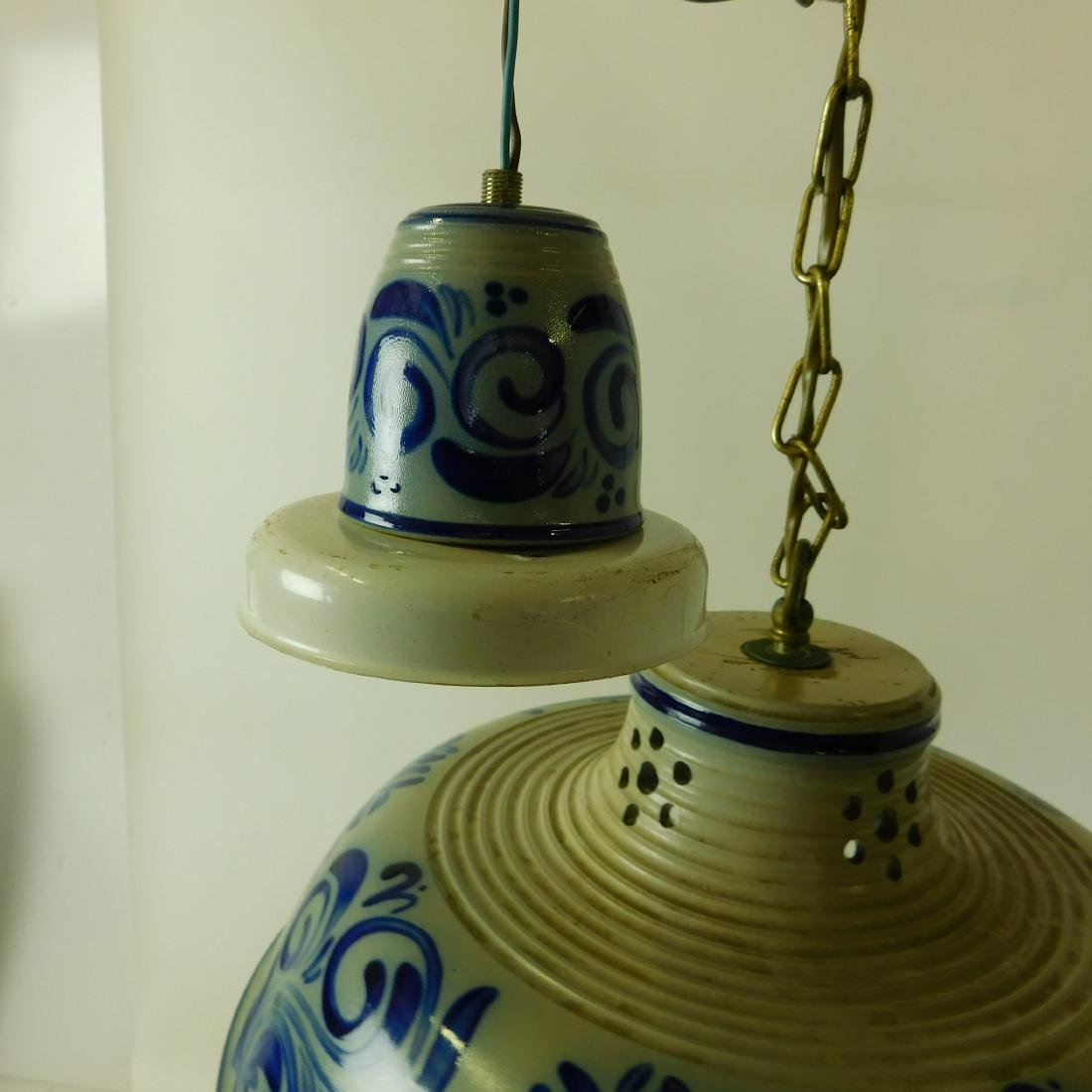 Delft Style Hanging Fixture - 2