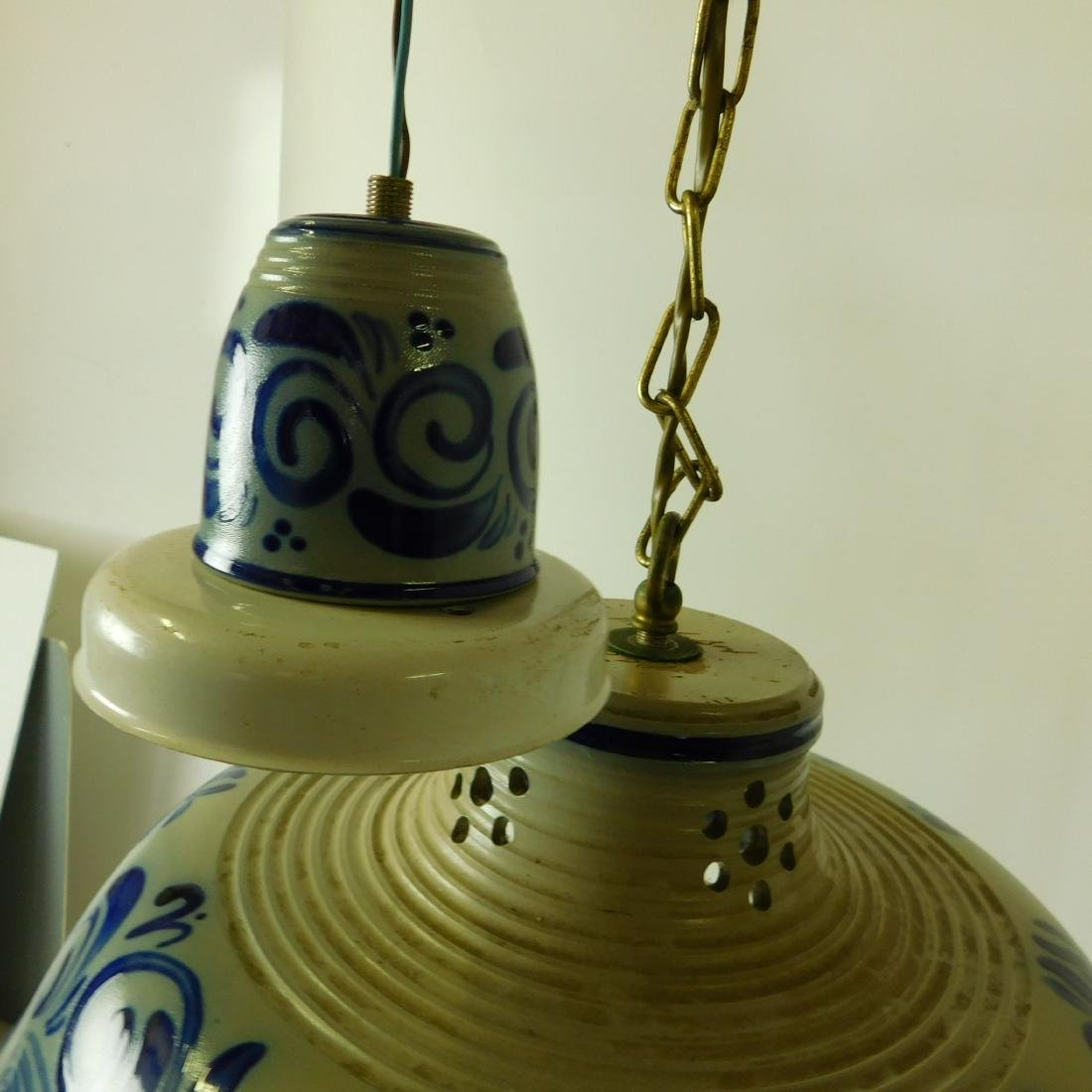 Delft Style Hanging Fixture - 3