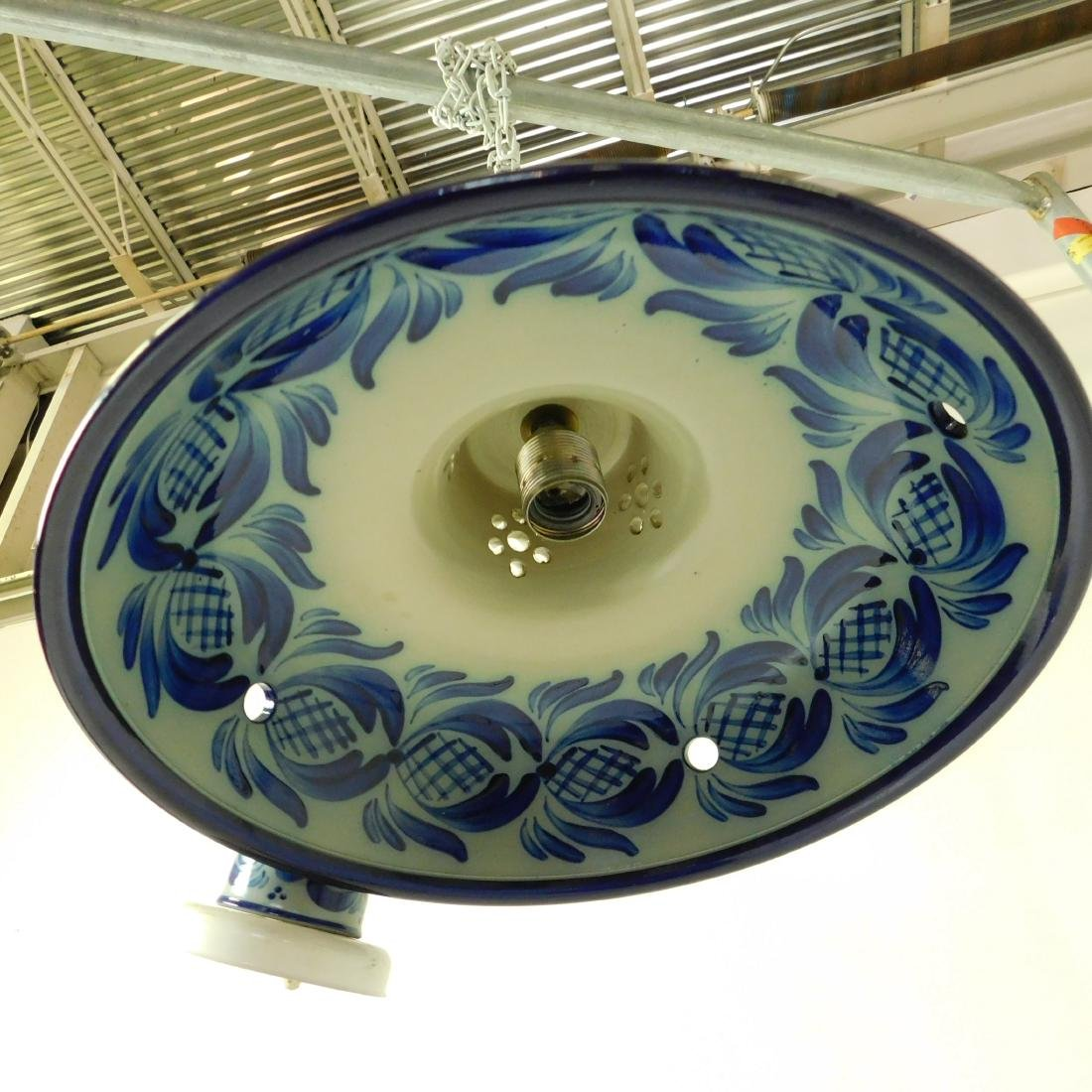 Delft Style Hanging Fixture - 5