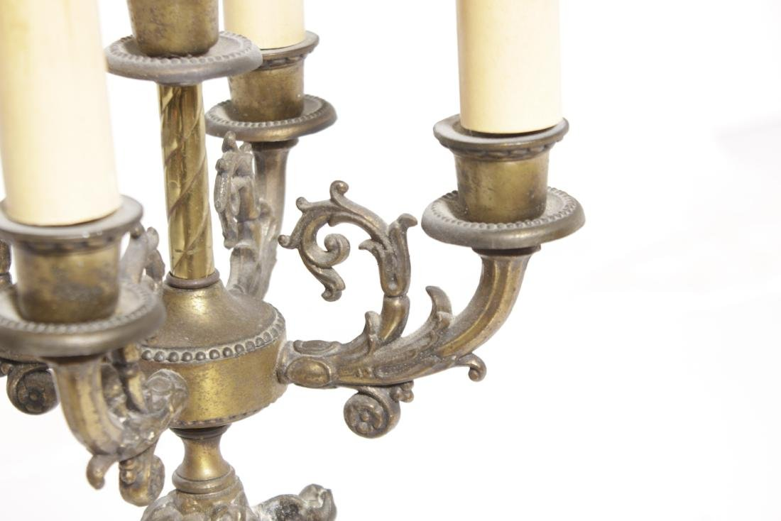 Single Cherub Candelabrum - 6