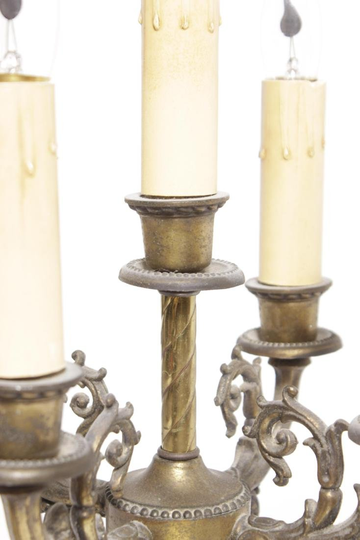 Single Cherub Candelabrum - 7