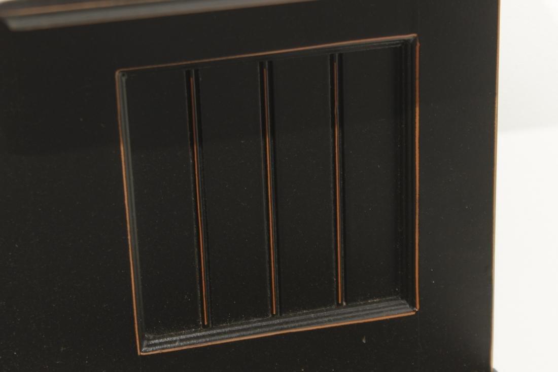 Ebonized Hanging Wall Shelf - 5