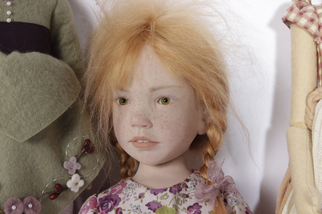 Four Miscellaneous Maggie Tocan Dolls - 2