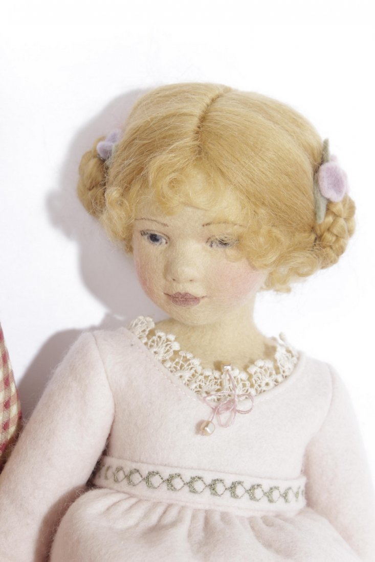 Four Miscellaneous Maggie Tocan Dolls - 5