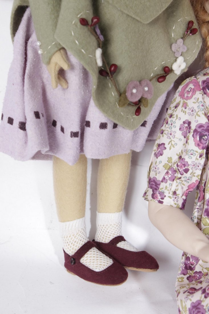 Four Miscellaneous Maggie Tocan Dolls - 7