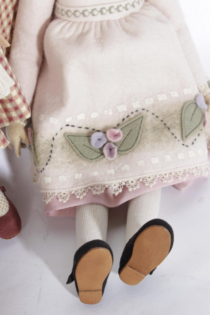 Four Miscellaneous Maggie Tocan Dolls - 8