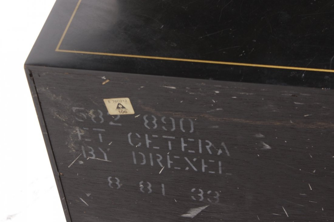 Chinese Black Lacquer Cabinet - 10