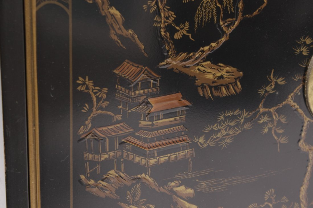 Chinese Black Lacquer Cabinet - 3