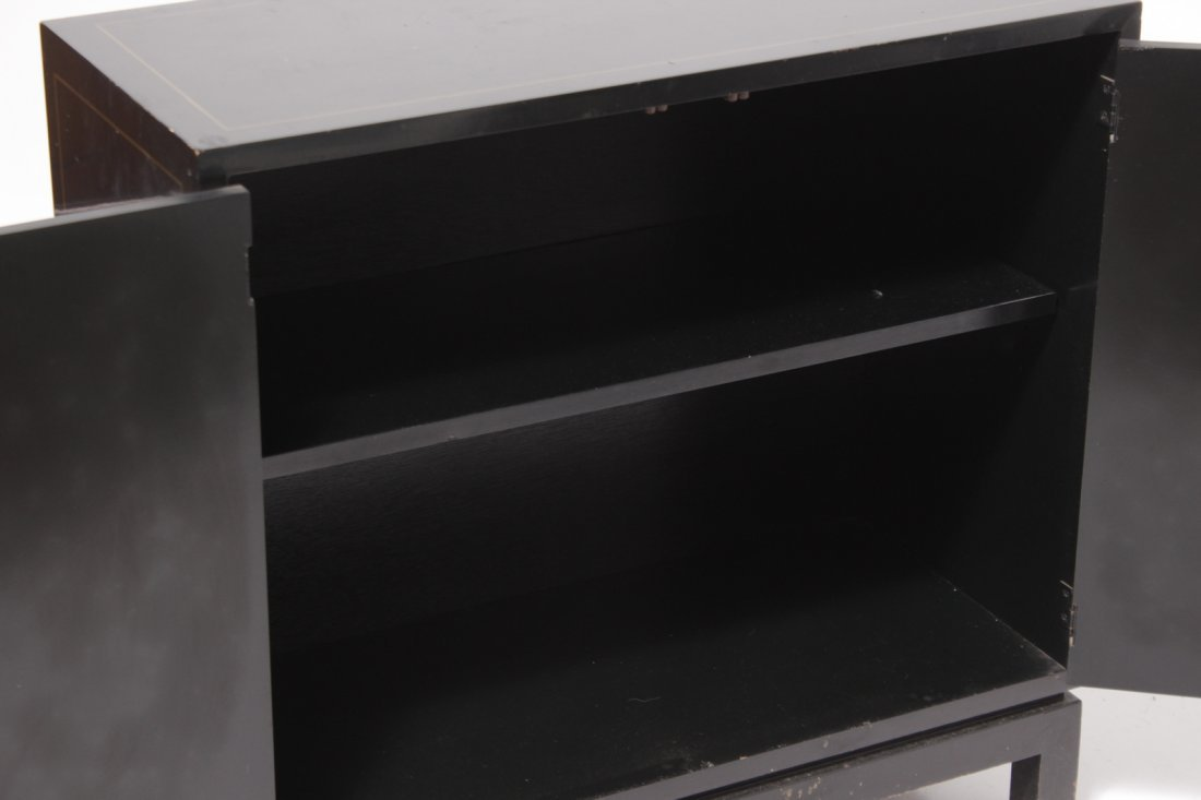 Chinese Black Lacquer Cabinet - 6