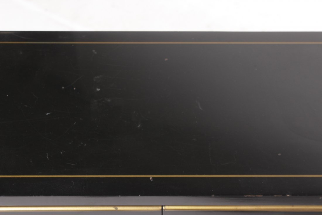 Chinese Black Lacquer Cabinet - 9