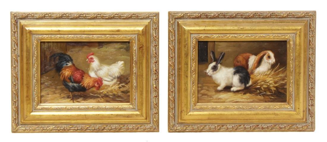 Pair of Decorative Paintings