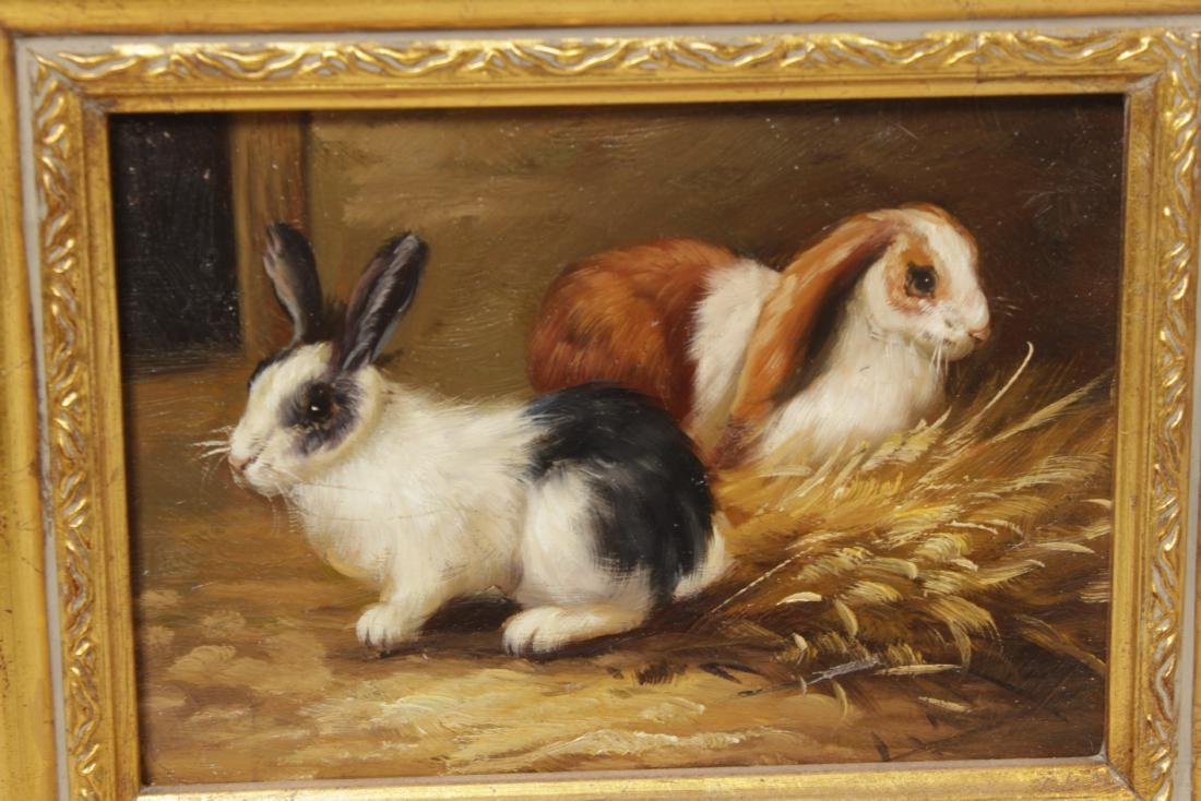 Pair of Decorative Paintings - 3