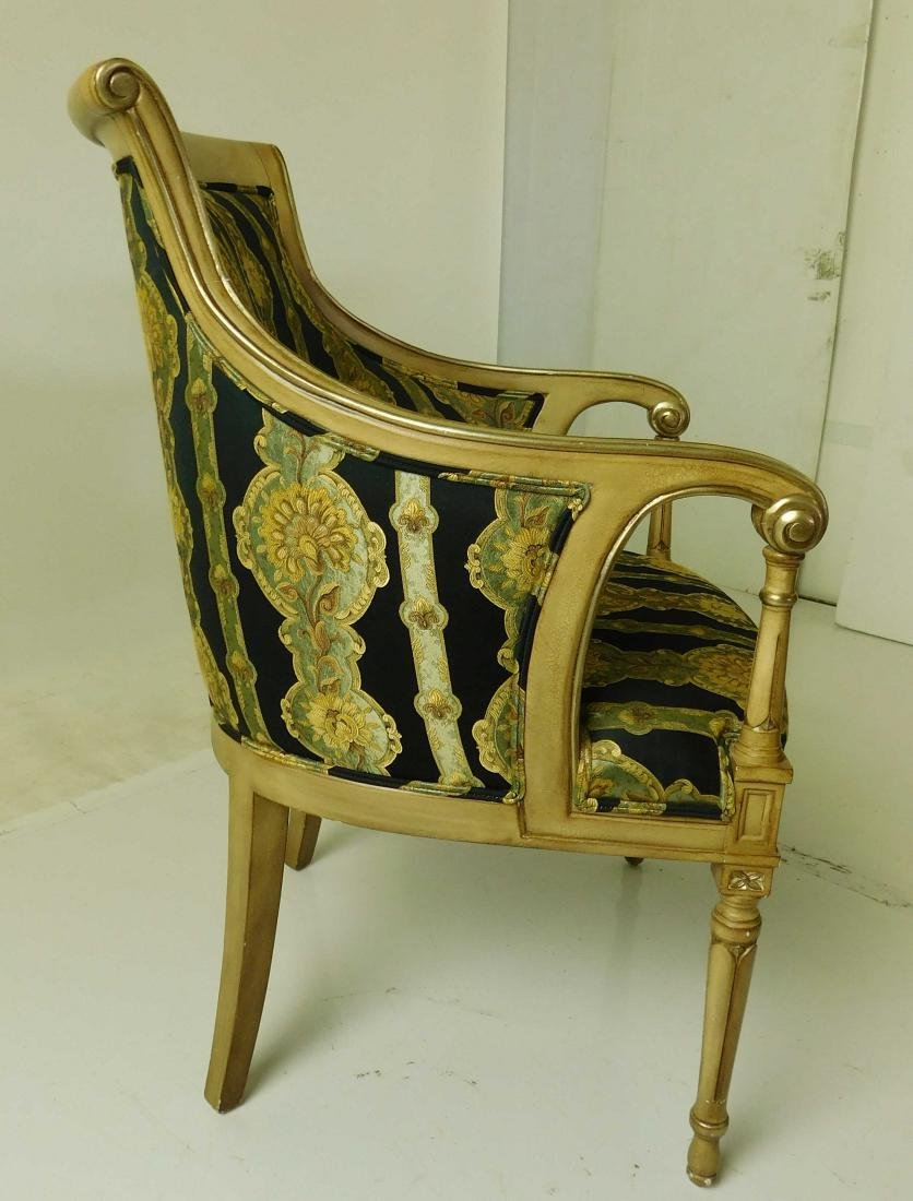 Pair Decorator Armchairs - 3