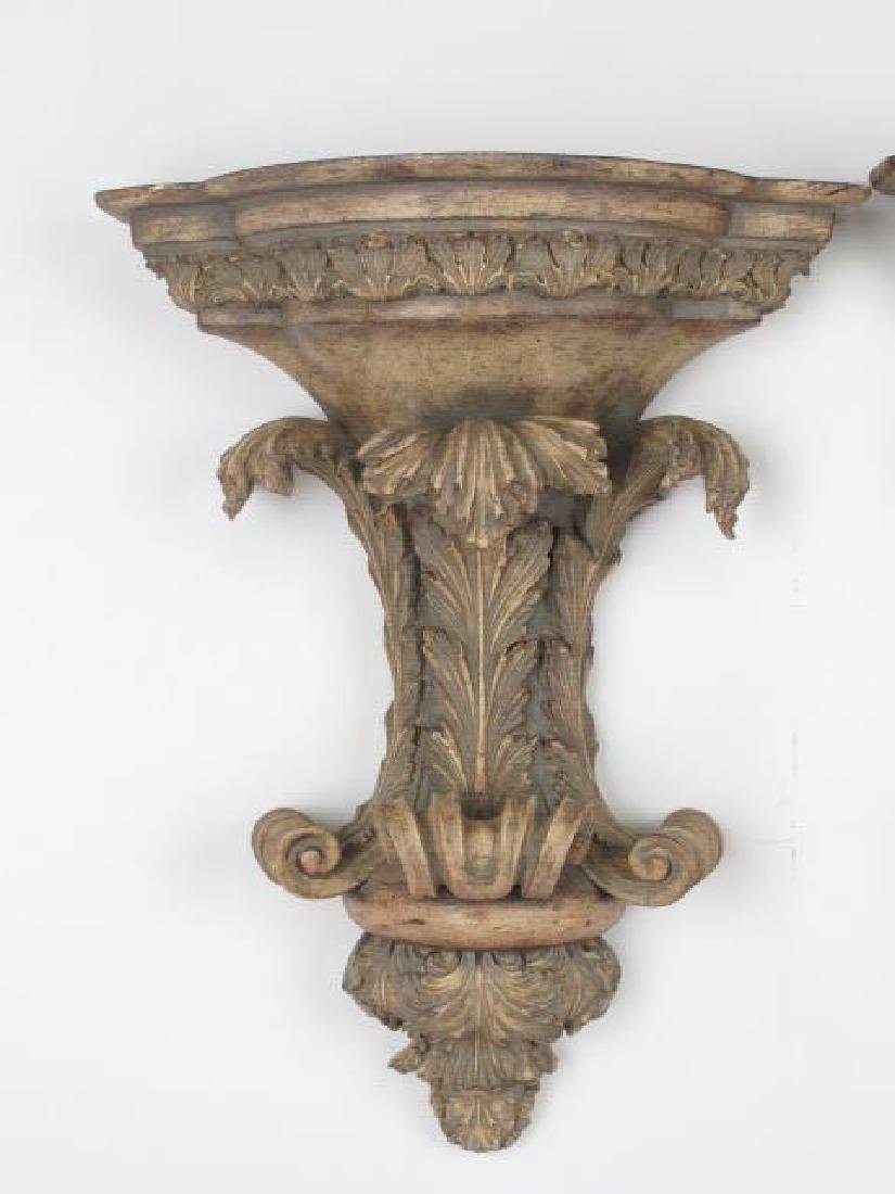 Pair of Contemporary  Wall Brackets - 2
