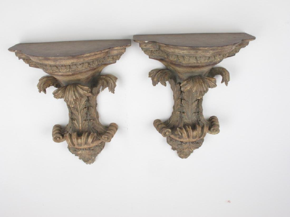 Pair of Contemporary  Wall Brackets - 6