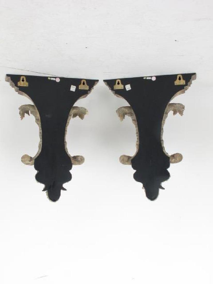 Pair of Contemporary  Wall Brackets - 9