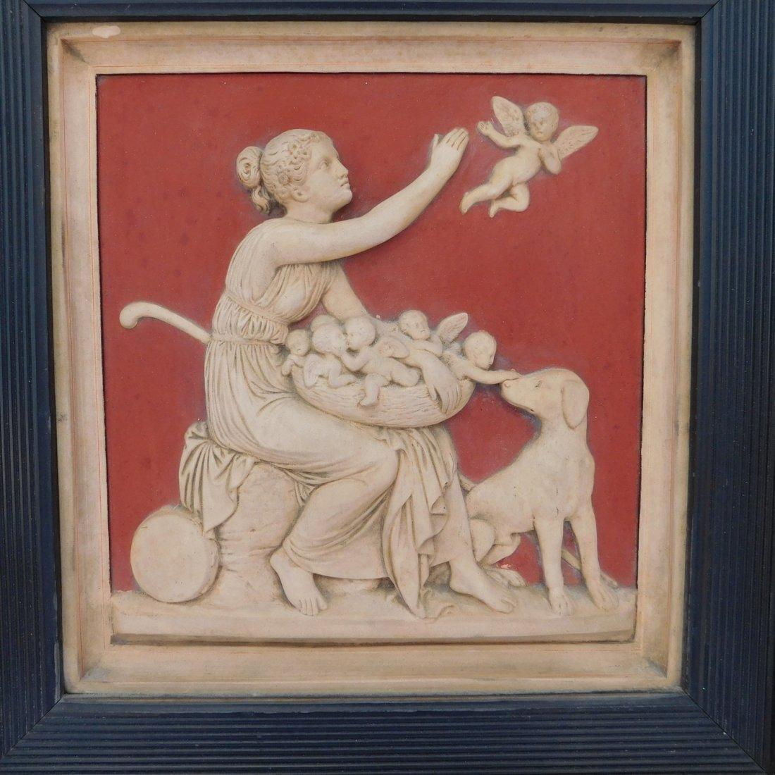 19th C Neoclassical Plaque - 2