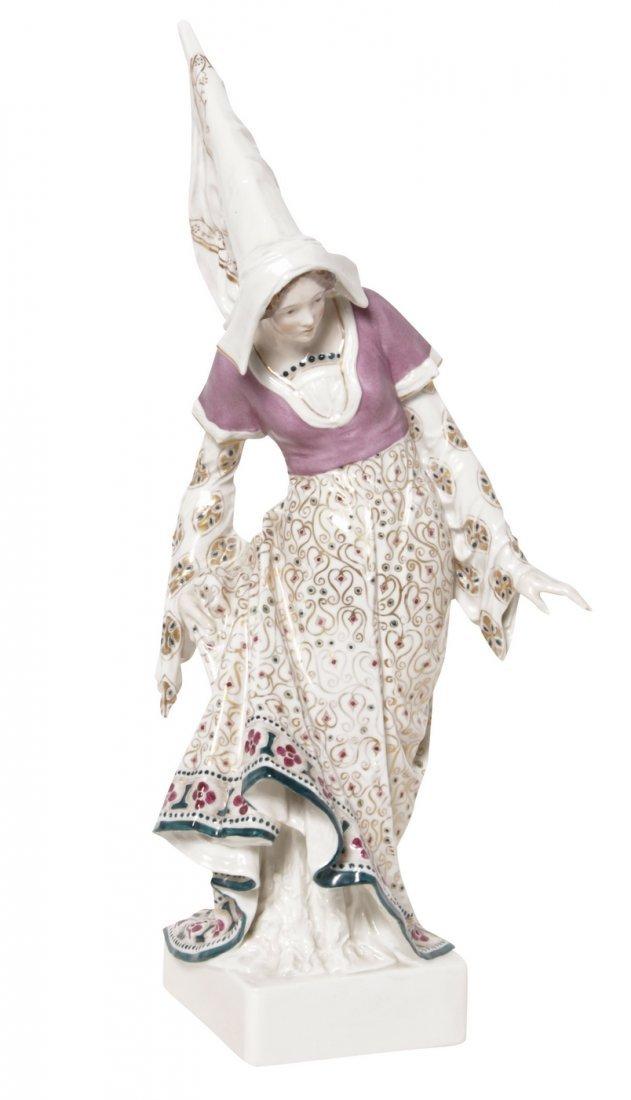 KPM Porcelain Figure of a Woman