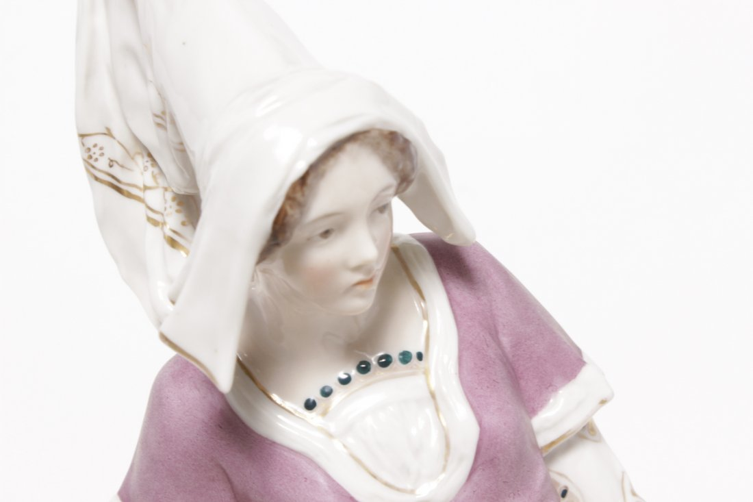 KPM Porcelain Figure of a Woman - 2