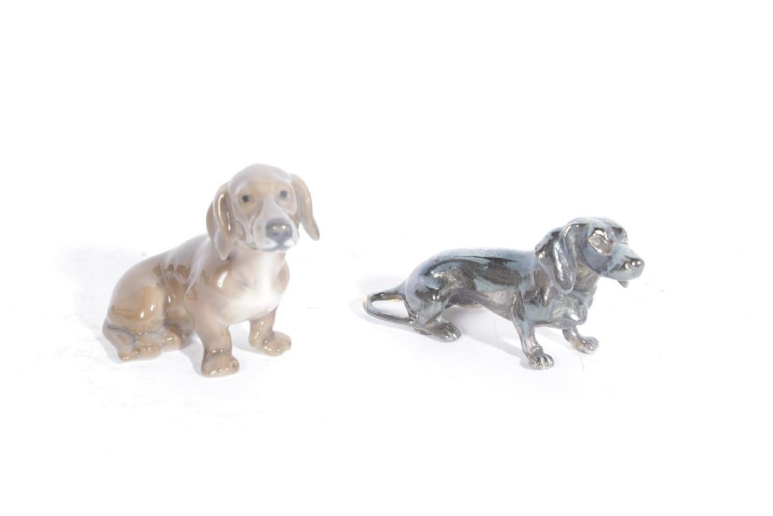 Five Dog Figures - 5